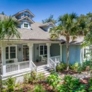 Amelia Low Country Island Home - Exterior Front