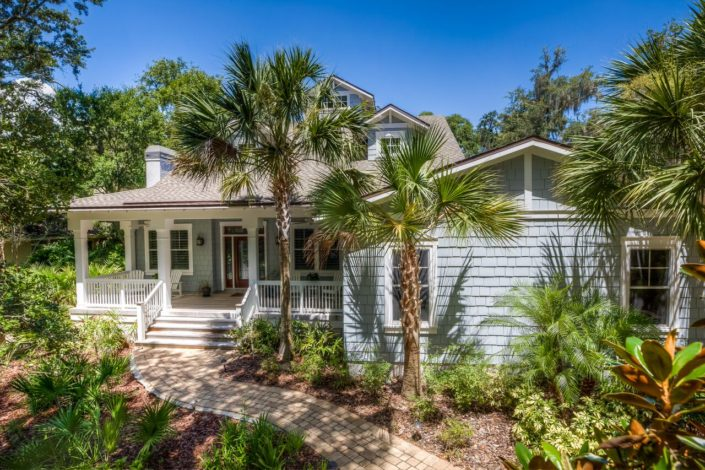 Amelia Low Country Island Home - Exterior Front 2